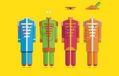 The Beatles#minimal #costume Frederico Birchal