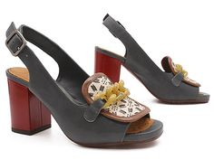 """Sweet Treat this week? The Chie Mihara Ruper! Chain it up for 20% off by clicking """"be sweet to your feet"""" at the bottom of the box on the left at www.pedshoes.com! xo, Ped Shoes."""
