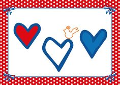 Ansichtkaart Studio Holland Harten #Valentijn #hartjes #Holland #Valentijnsdag #harten #liefde #love #Valentine
