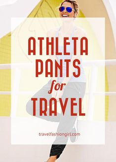 Have you ever worn Athleta pants? If not, maybe it's time to start. Here's why!