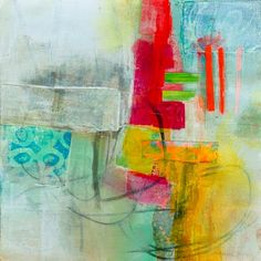 collage journeys: Acrylic Paint 101, Part 2 - Layering