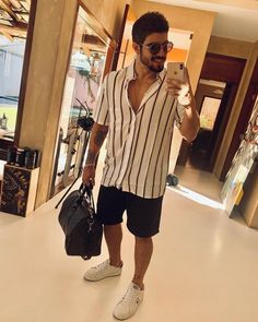 Summer Outfits Men, Casual Outfits, Summer Men, Urban Fashion, Mens Fashion, Dapper Men, Gentleman Style, Men Looks, Stylish Men