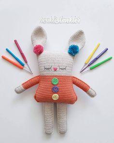 #tbt gelmiş hoşgelmiş 😊😊 Pattern👉 @spinayarncrochet . . #amigurumi #amigurumis #örgüoyuncak #örgübebek #handmade #handmadedoll…