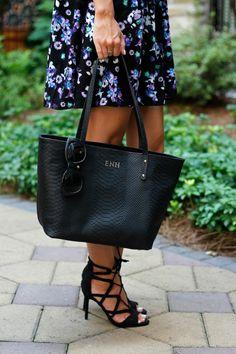 GiGi New York   Black Mini Taylor Tote  Life with Emily Fashion Blog