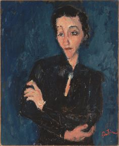 Soutine  My mom bought me a book about Soutine when I was young. I always think of her when I see his art.