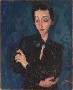 Portrait de Maria Lani; Chaim Soutine 1929