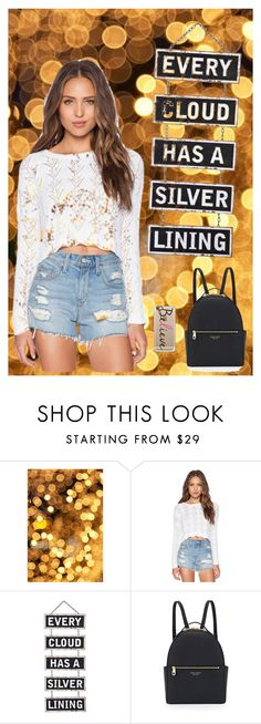 """""""Glit"""" by carysierragomez ❤ liked on Polyvore featuring Autumn Cashmere, Silver Lining, Henri Bendel and Casetify"""