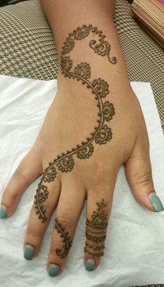My henna design ;)