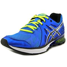 Asics Mens GelDefiant Training ShoeRoyalBlackLime75 M US ** Want to know more, click on the image.