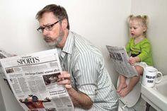 Mira lo que hace este papá con su hija Te encantará!