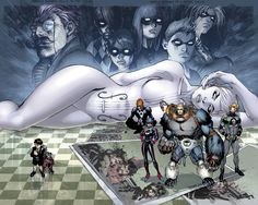 The Umbrella Academy is a comic book series created and written by Gerard Way