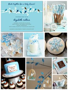winter wonderland winter baby shower