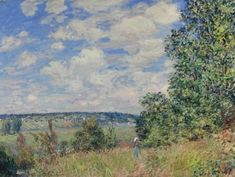 Haymaking at Noon in June - Alfred Sisley - The Athenaeum