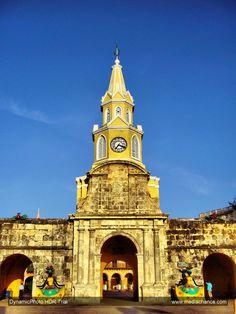 Torre del Reloj cartagena colombia