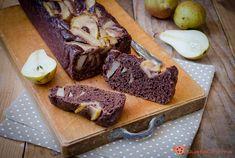 Plumcake alle pere e cacao senza uova senza burro | Gustacinema