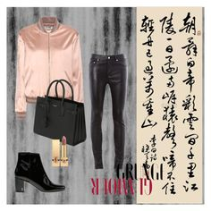 """grunge"" by shishakova on Polyvore featuring Yves Saint Laurent"