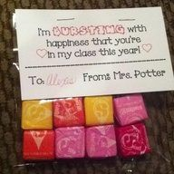 Starbursts are the best. Welcome back to school bags