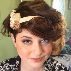Great Gatsby inspired prom hair and makeup!
