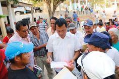 Pobladores de San Isidro Apango reiteran su interés de trabajar con el Diputado Local, Samuel Gurrión Matías