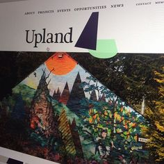 Welcoming weareupland.com into the world. @upland_cic // @WeAreUpland |  Upland is a bold, ambitious, world-class, rural-based visual art and craft development organisation based in Dumfries & Galloway.