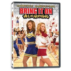 Movie Photos: Bring It On: All or Nothing DVD Boxart - 2006 ❤ liked on Polyvore featuring movies, dvds and filmes