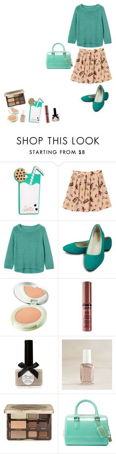 """""""Chocolate Chip Cookie"""" by katykitty5397 on Polyvore featuring Lolli Swim, Origins, Ciaté, Aerie, Too Faced Cosmetics, Furla and ChocolateChipCookieDay"""