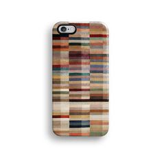 Geometric brown pattern iPhone 6 case, iPhone 6 Plus case S662