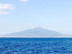 Not a bad view for a Monday  #vesuvius