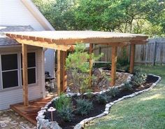 backyard landscaping with deck | Great Ideas for Small Deck | Backyard Design Ideas