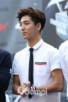 Baro - B1A4,  Walk the Red Carpet at KCON 2014