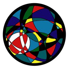 abstract circle art - Google Search