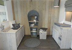 commode steigerhout donkergrijs - Google zoeken