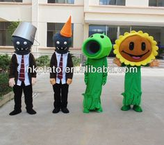 Game Plants Vs Zombies Costumes,Adult Sunflower Costume - Buy Adult Sunflower…