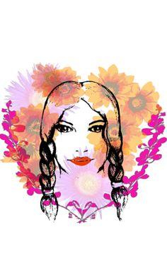 Case Garota das flores do Studio Cinarafigueiredo por R$60,00