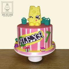 Shopkins CheeZee Birthday Cake
