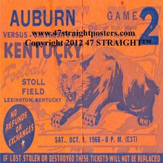 http://www.bestcybermondaygifts.com/ Best Cyber Monday Gifts 2012! Best Cyber Monday gifts for football fans! 1966 Kentucky Football Ticket Coasters™ available soon. #47straight #cybermonday