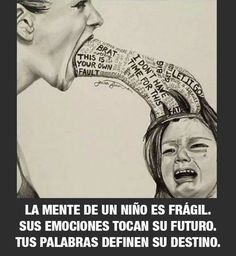 Verbal, emotional and psychological child abuse art - unknown artist Parenting Quotes, Kids And Parenting, Parenting Ideas, Gentle Parenting, Verbal Abuse, The Victim, Art Therapy, Decir No, It Hurts