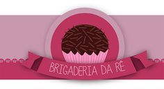 Brigaderia da Rê Logo Some Times, Logo Design, How To Make, Designers, Things To Sell, Logo, Sweets, Ideas, Monogram