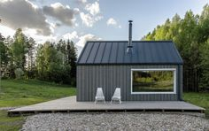 Image 1 of 27 from gallery of Lithuanian Hunting House / Devyni architektai. Photograph by Augis Narmontas