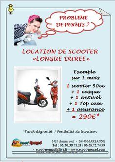 scoot nomad location de scooter en longue durée sur drome Ardèche