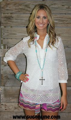 Bad Romance Mesh Top in White $34.95 Small-Large www.gugonline.com
