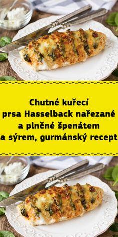 Czech Recipes, Ethnic Recipes, Czech Food, Ricotta, Mozzarella, Baked Potato, Feta, Potatoes, Baking