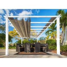 A pergola gives a secluded region and shade in the summertime. A pergola is something which will fall in that category. Then pergola is a superb choice. There's nothing quite like a gorgeous, modern-day pergola in order to add value… Continue Reading → Diy Pergola, Pergola Canopy, Metal Pergola, Deck With Pergola, Cheap Pergola, Covered Pergola, Outdoor Pergola, Pergola Shade, Pergola Lighting