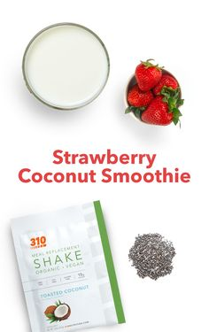 Transform your regular fruit smoothie into a tropical treat by adding a touch of coconut! This Strawberry Coconut Smoothie is refreshing, fruity, and full of flavor for a nutrition-packed meal that can be enjoyed by everyone!