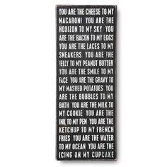 You Are... Plaque | Home Living | SkyMall