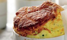 Souffle - scrummy savoury or sweet. My fave has to be Goat's Cheese and Chive though.