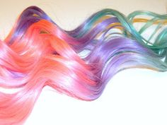 pastel hair ombre