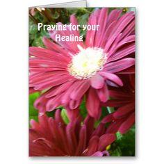 Praying for Your Healing Card