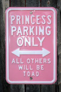 Bailey Grace needs this sign for her little pink car! :)