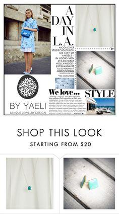 """YAELI JEWELRY.48"" by samirhabul ❤ liked on Polyvore featuring Zara and ByYaeli"
